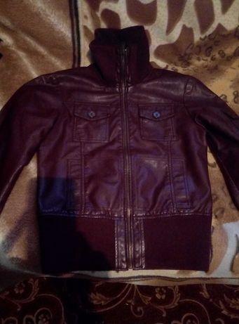 Куртка, курточка кожаная
