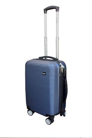 MULANO walizka Niebieska Bagażowa, Samolotowa (M) Solidna i lekka 1062
