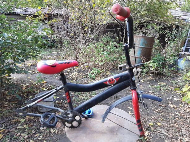 Детский велосипед по запчастям