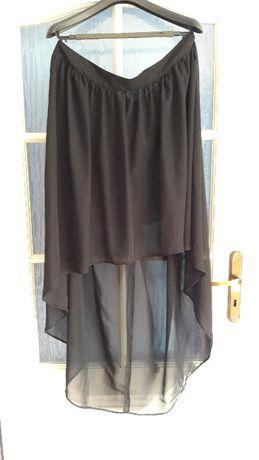 Nowa spódnica 46 48 50 na wesele sukienka szyfon asymetryczna ASOS 4xl
