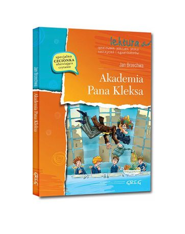 Akademia Pana Kleksa nowa książka lektura z opracowaniem
