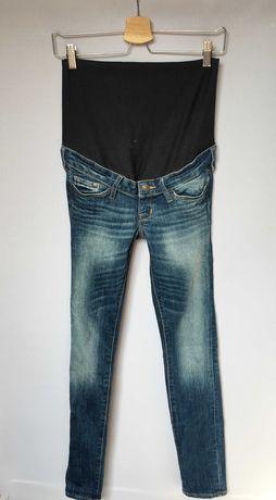 Spodnie H&M Mama Slim XS 34 Jeansy Dzinsowe Rurki Boob Mum Mom