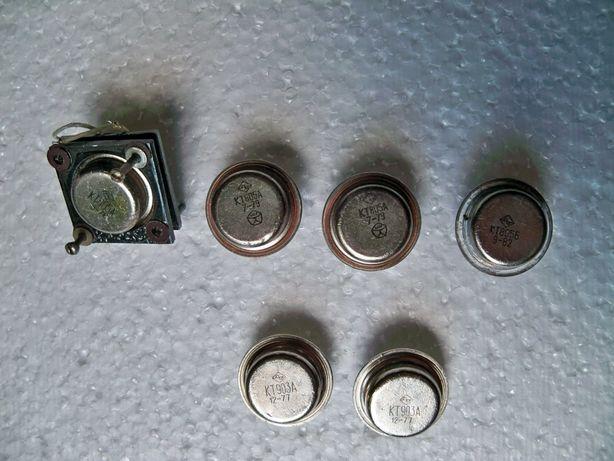 Транзисторы КТ805А, КТ 805Б, КТ903А, КТ838А.