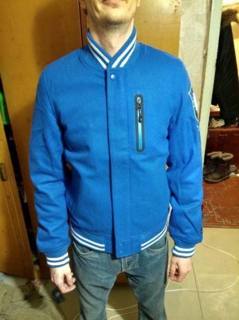 куртка nike bomber destroyer college jacket wool осень весна