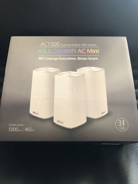 Asus ZenWifi AC Mini CD6 AC1500 zesta 3PAK Ai Mesh