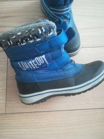 Buty zimowe, sniegowce rozm 35