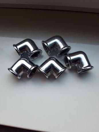 Угловые повороты латунь никель