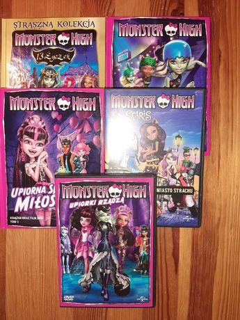 Płyta DVD Monster High 5 tytułów