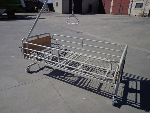 Łóżko rehabilitacyjne i wózek inwalidzki