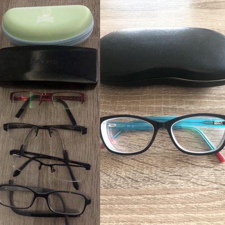 Oprawki okularowe D&G i inne