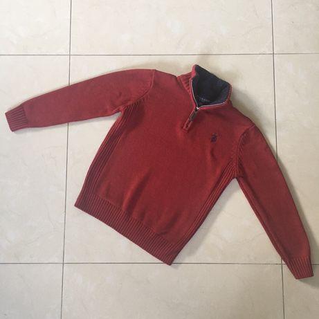 Us polo sweter chlopiec 122 7 lat