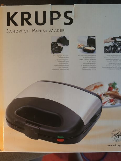 Krups sandwich panini maker
