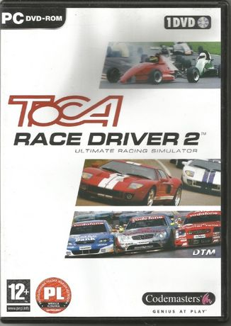 Gra Wyścigi Samochodowe Toca Race Driver 2 PC