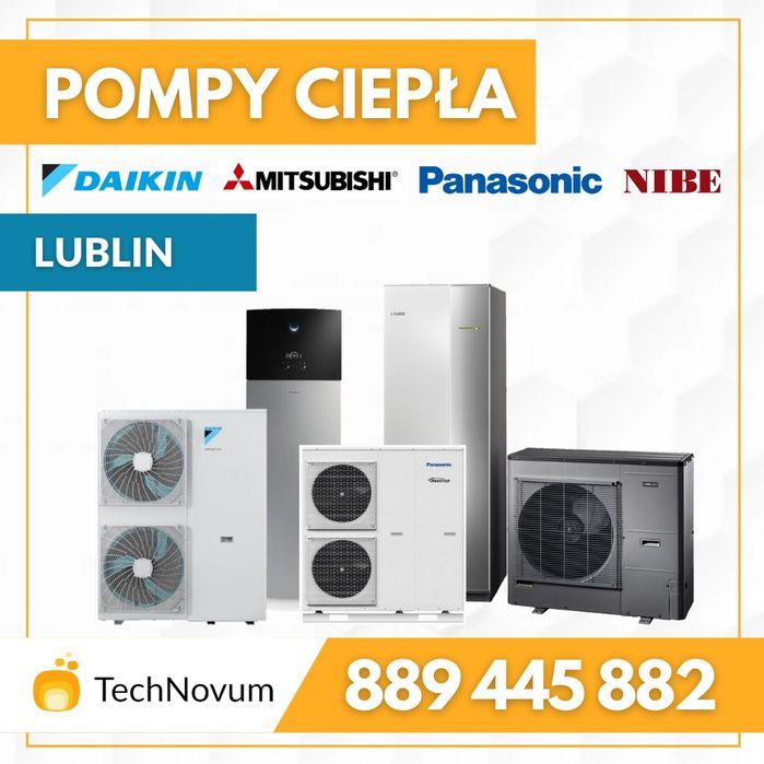 Pompa pompy ciepła grzanie cwu co chłodzenie LG Panasonic NIBE Lublin - image 1