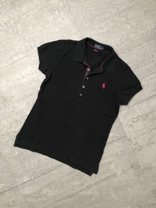 Polówka damska oryginalna czarna Polo Ralph Lauren rozmiar M stan i Słupsk - image 1