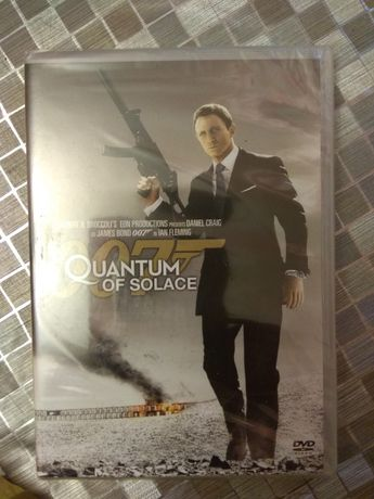 007 Quantum of solace  James Bond Dvd nowe folia Daniel Craig