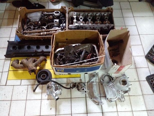 Двигатель волга 406 по запчастям