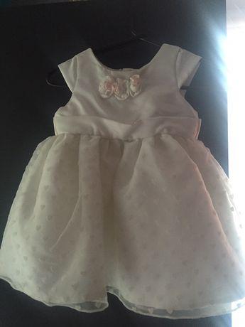 Sukienka princesa biała