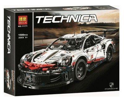 Конструктор Bela 11171 Техник Порш Lego Technic 42096 Porsche 911 RSR