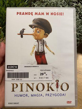 Pinokio, płyta DVD