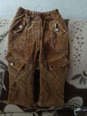 штани утеплені флісом