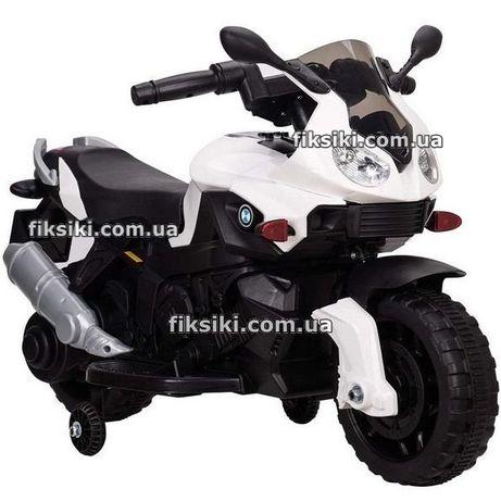 Детский мотоцикл 4080 БЕЛЫЙ, электромобиль, Дитячий електромобiль