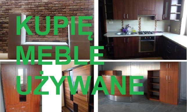 Zapłacę i Odbiorę meble używane do salonu, kuchni sypialni i biura