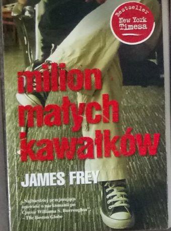 Książka Milion Małych Kawałków James Frey