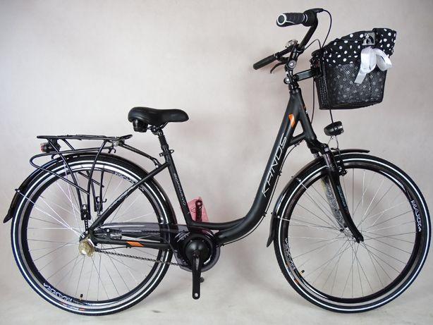 Rower miejski KANDS SOPRANO 3v czarny mat