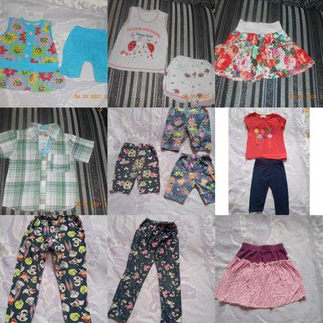 Летняя одежда на девочку 86-92