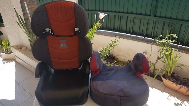 1 Cadeira + 1 Banco - assento auto para criança