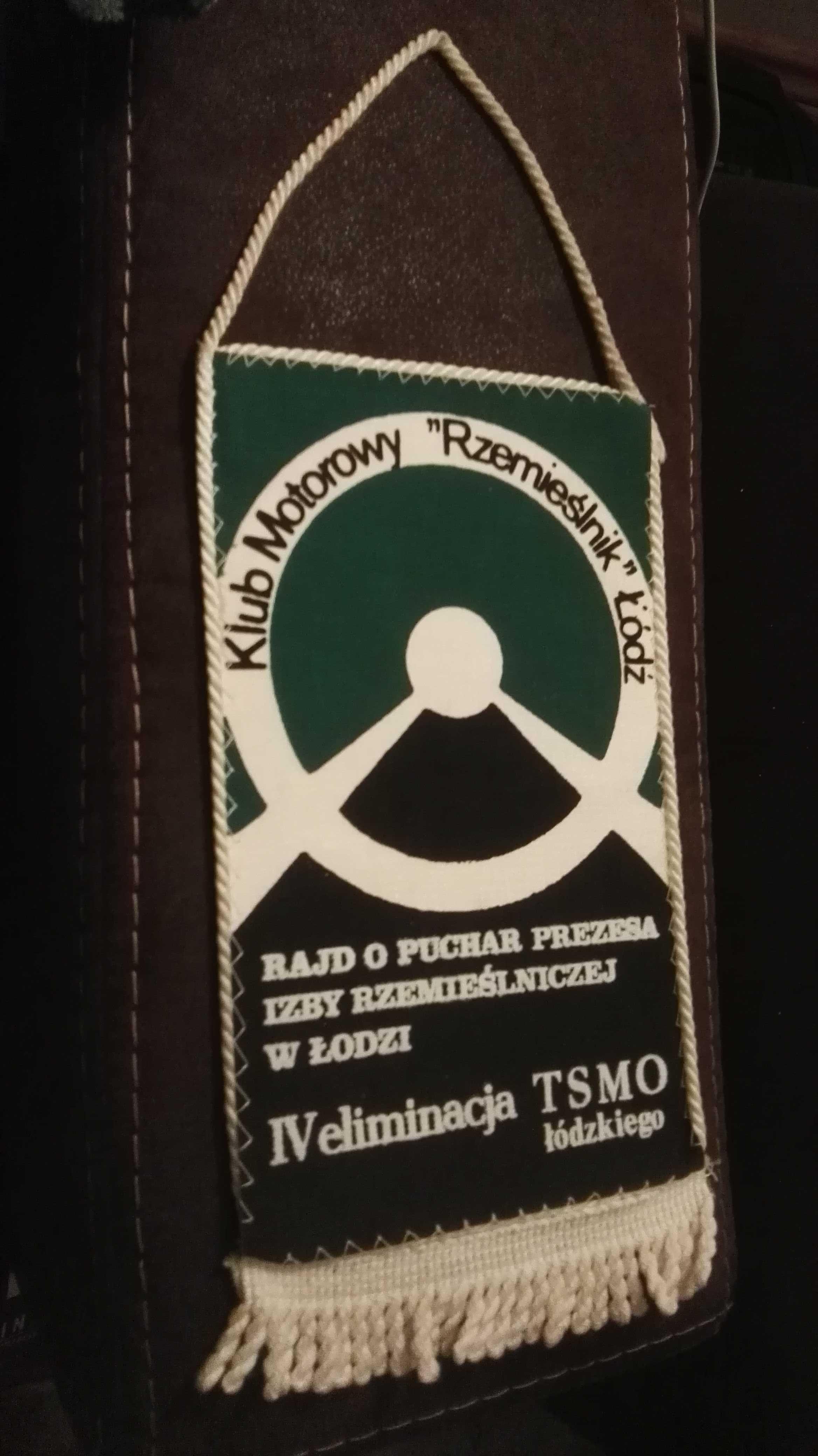 Proporczyk Klub Motorowy Rzemieślnik Łódź