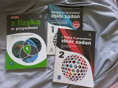 Fizyka poziom rozszerzony podręcznik I dwa zbiory zadań