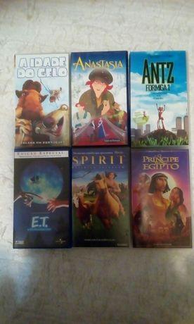 Filmes VHS. Desenhos animados