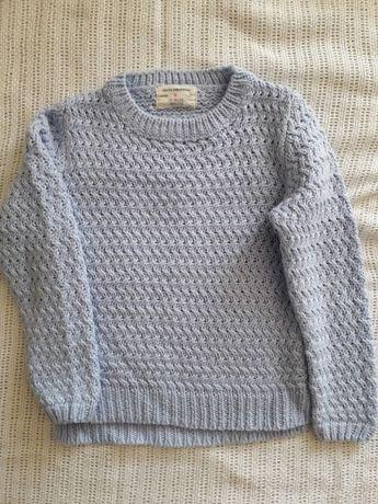 sweterek dziewczęcy rozm. 116, 5-6 lat