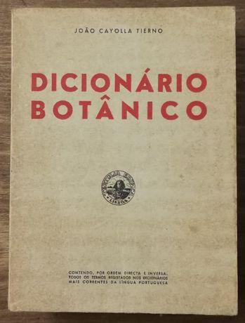 dicionário botânico, joao cayolla tierno