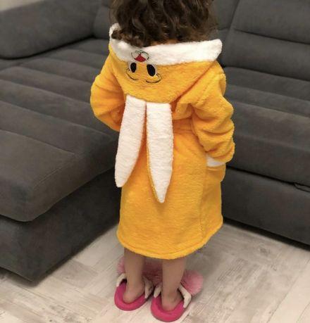 Детские махровые халаты (от 2 до 12 лет)