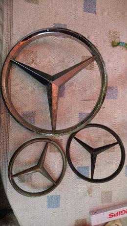 Emblematy zabytkowe mercedes