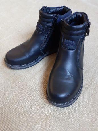 Демисезонные ботинки на мальчика 34 размера