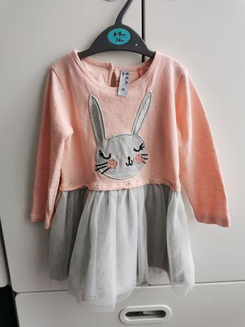 Sukieneczka z króliczkiem 5 10 15