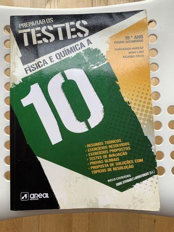 Livro Preparar os Testes Física e Química A 10° Ano