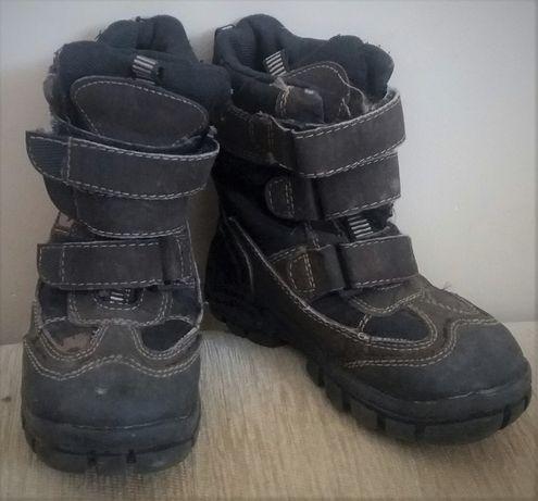 Buty zimowe dla chłopca rozmiar 27