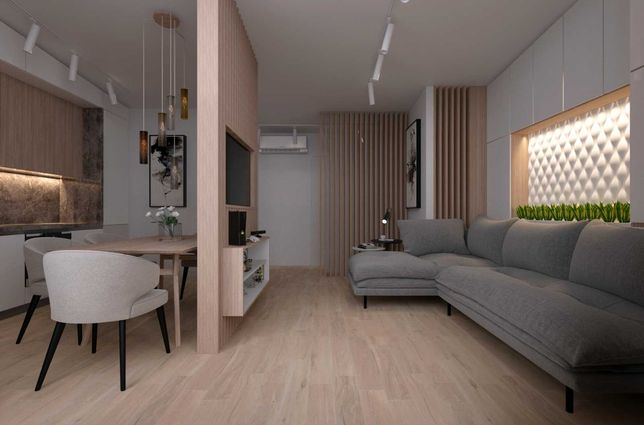 ЖК На Прорезной , 2х уровневая видовая квартира с террасой