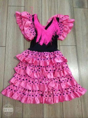 Sukienka hiszpanka dla dziewczynki