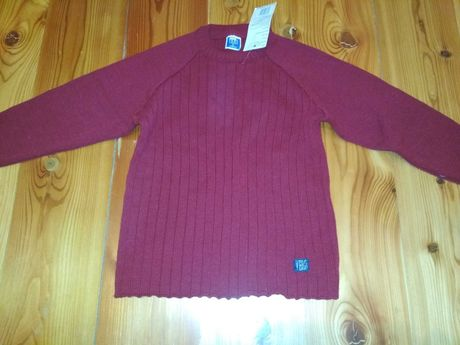 Nowy sweterek 122 swetr sweter