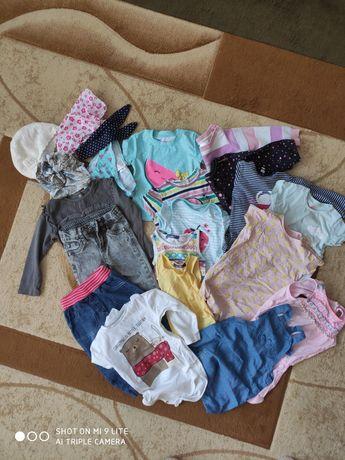 Rzeczy dla dziewczynki rozmiar 74-86