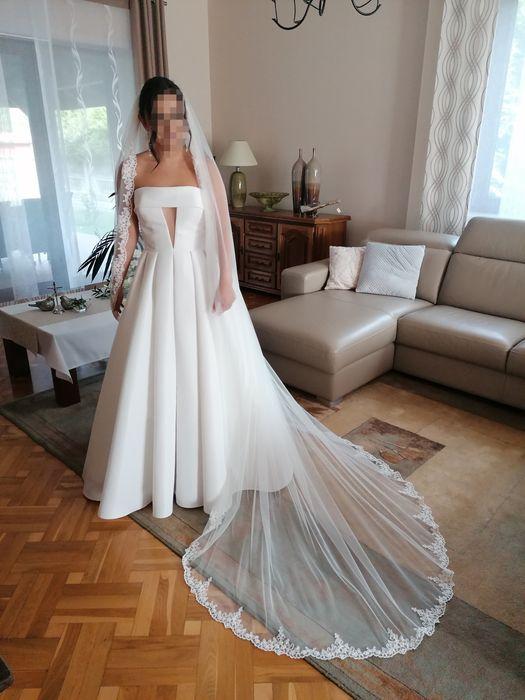 Suknia ślubna Justin Alexander model 88095 Stary Broniszew - image 1