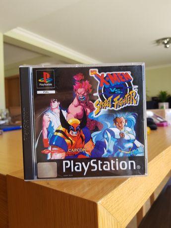 X men vs street fighter ps1 playstation 1