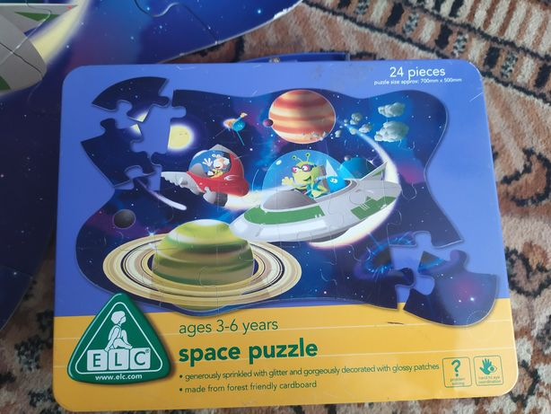 Пазлы Space puzzle