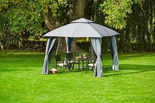 Pawilon ogrodowy sankt hans namiot ogrodowy 3m x 3m